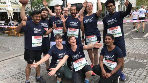 Unser Runner-Team freut sich auf den Start beim Firmenlauf Saarbrücken 2019