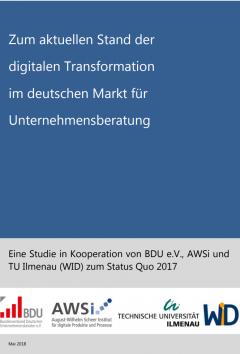 Studie zur Digitalen Transformation der Unternehmensberatung im deutschen Markt