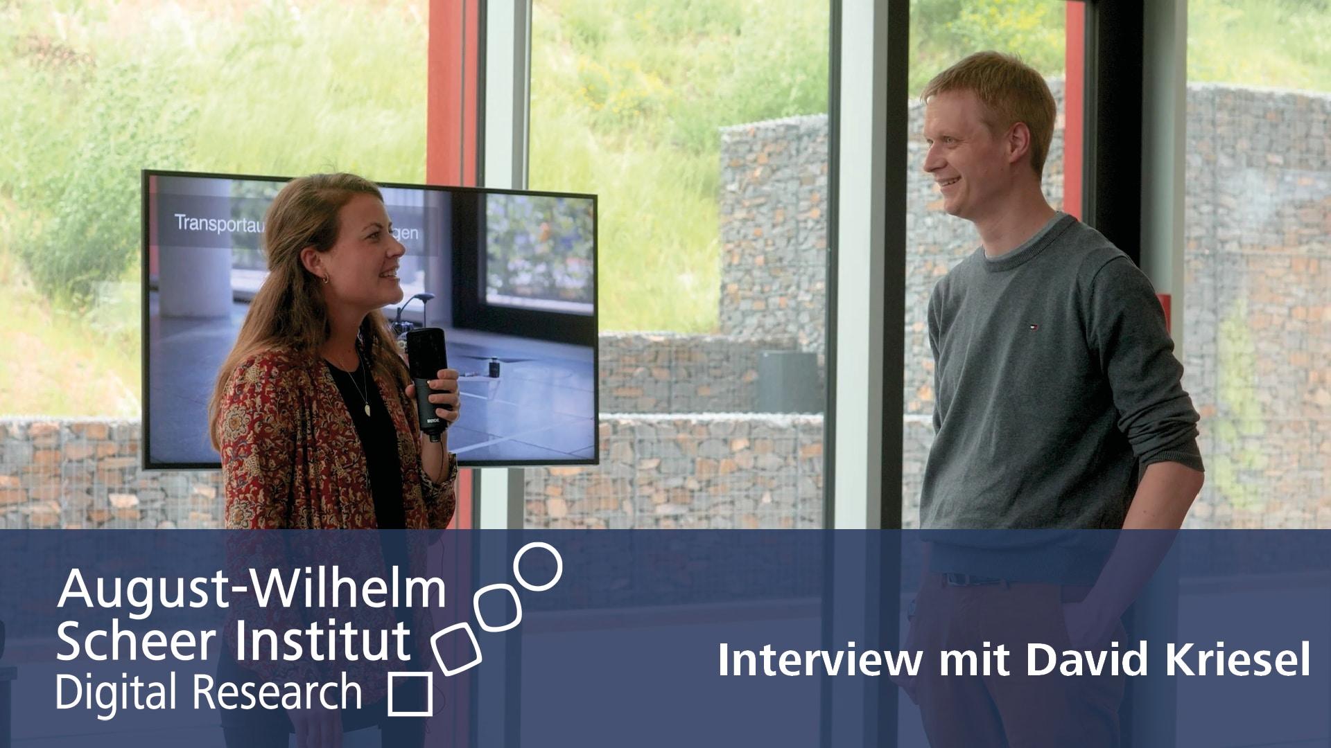 Video zum Interview mit Data Scientist