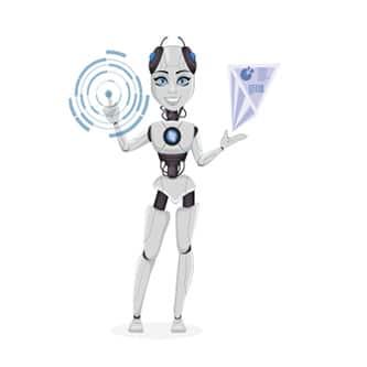 Die digitale Assistentin als Roboter
