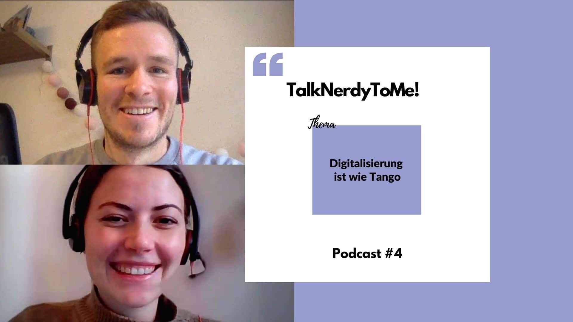 Podcast Digitalisierung ist wie Tango