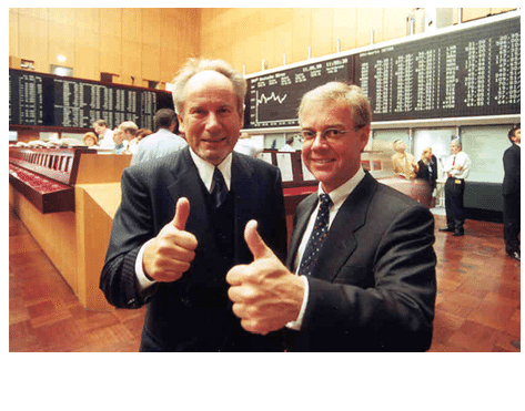 IDS Scheer an der Börse