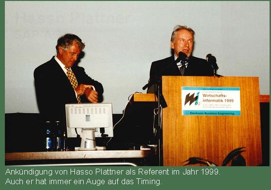 Prof. Scheer am Rednerpult
