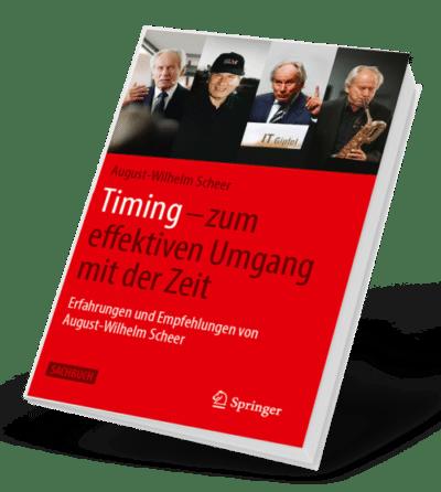 Cover des Buches Timing von August-Wilhelm Scheer