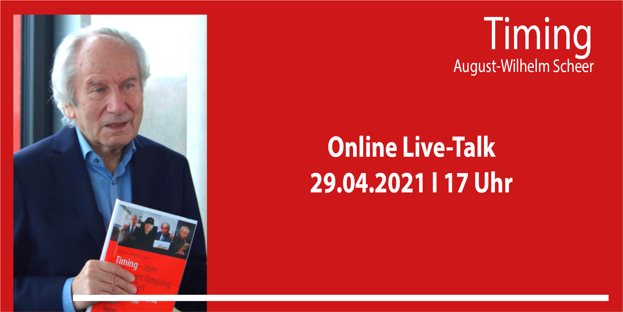 Open Live-Talk Prof. Scheer