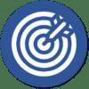 Icon Identifikation der Marktbedürfnisse und Entwicklung Geschäftsmodell