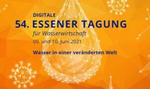 Digitale Essener Tagung für Wasserwirtschaft